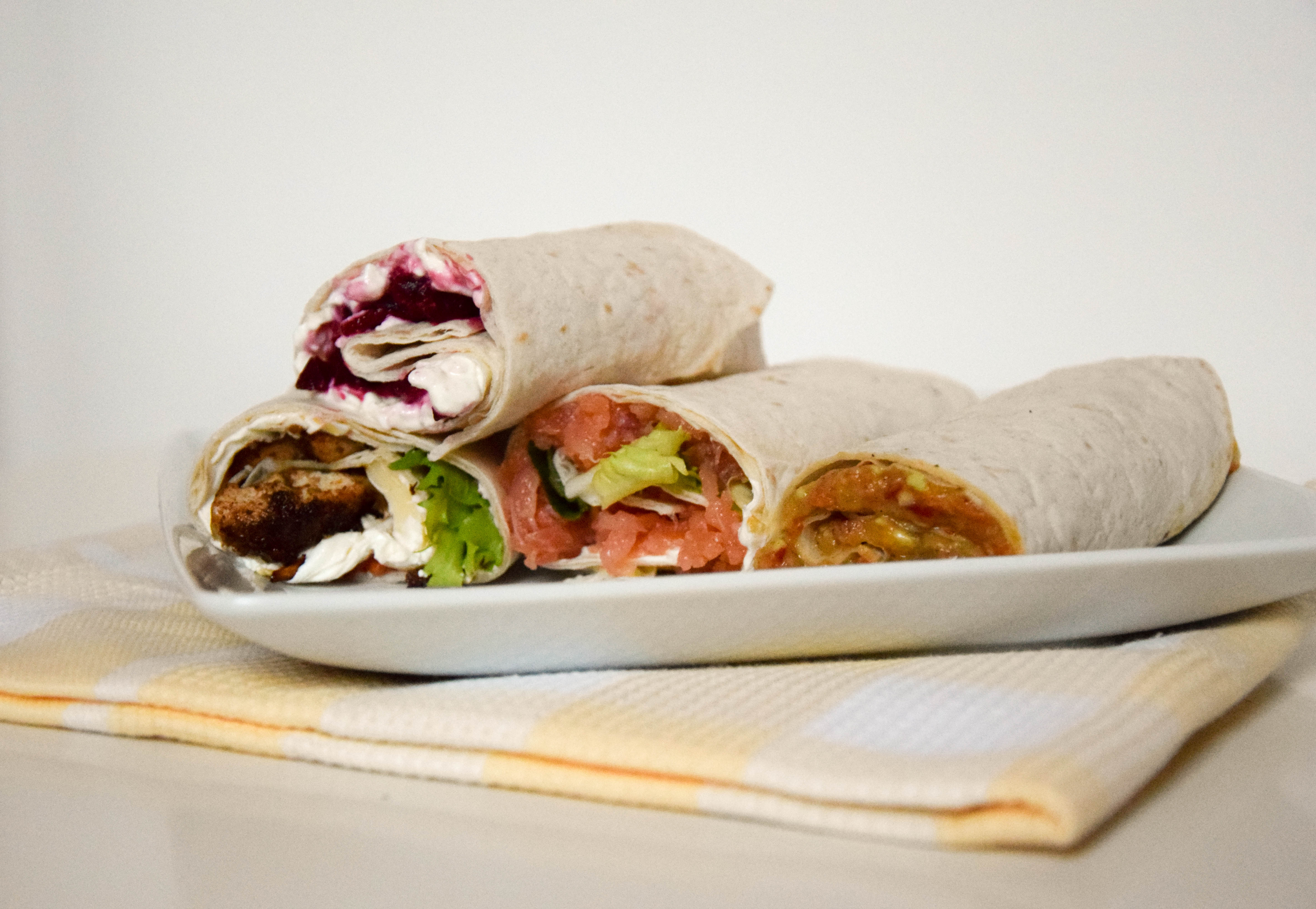 Office Lunch Wraps