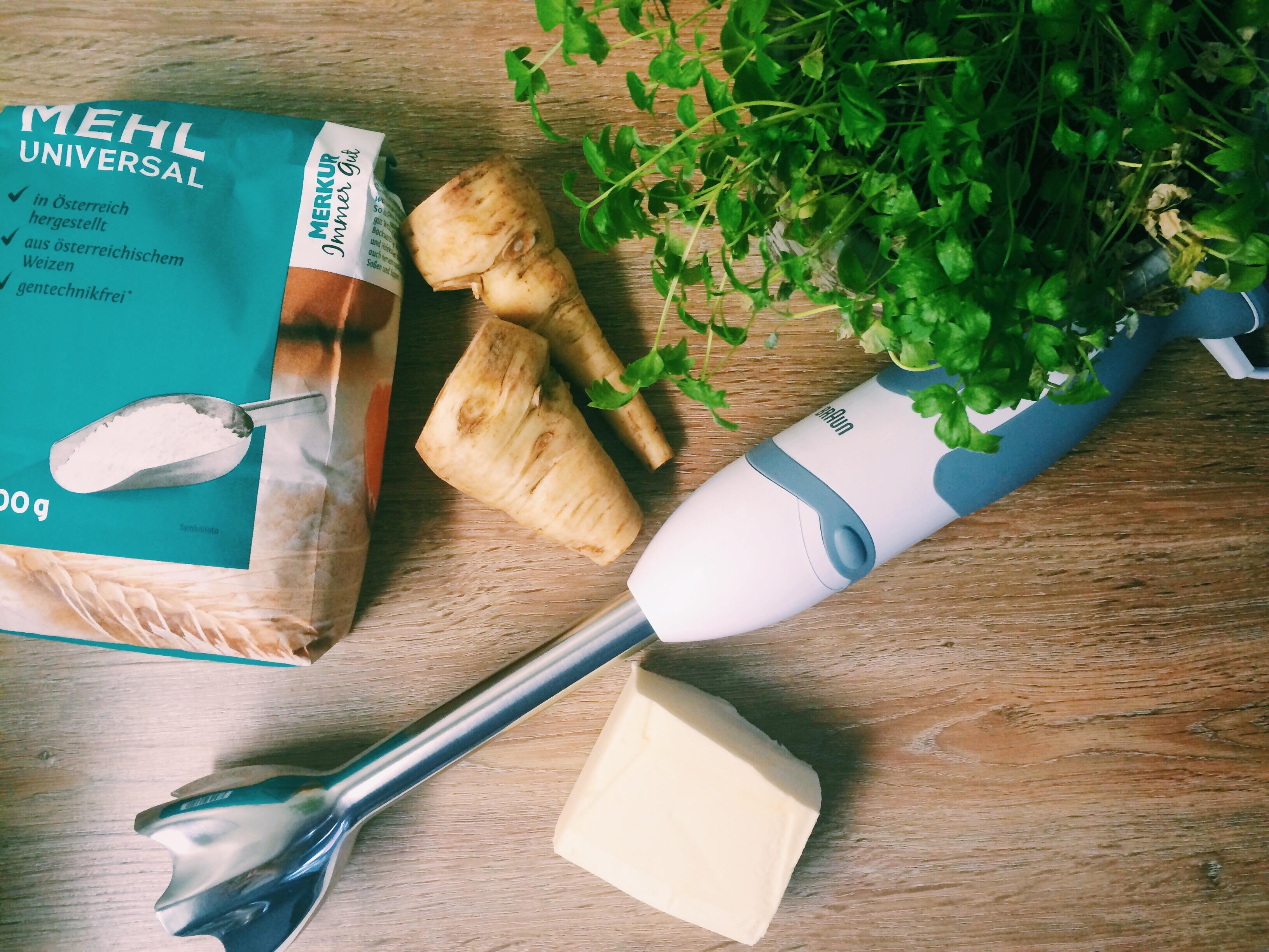 Pastinaken Cremesuppe