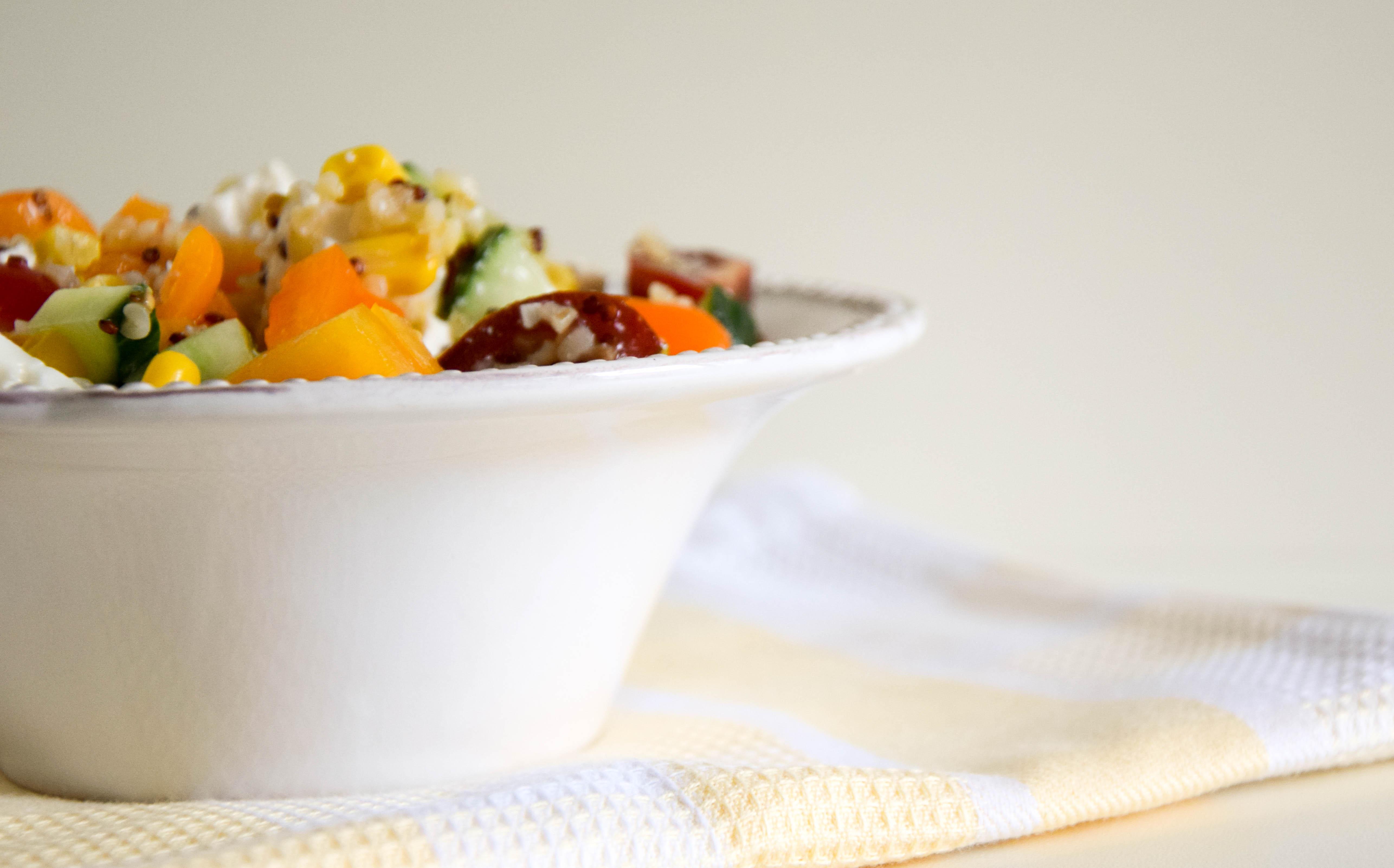 Quinoa Bulgur Salat