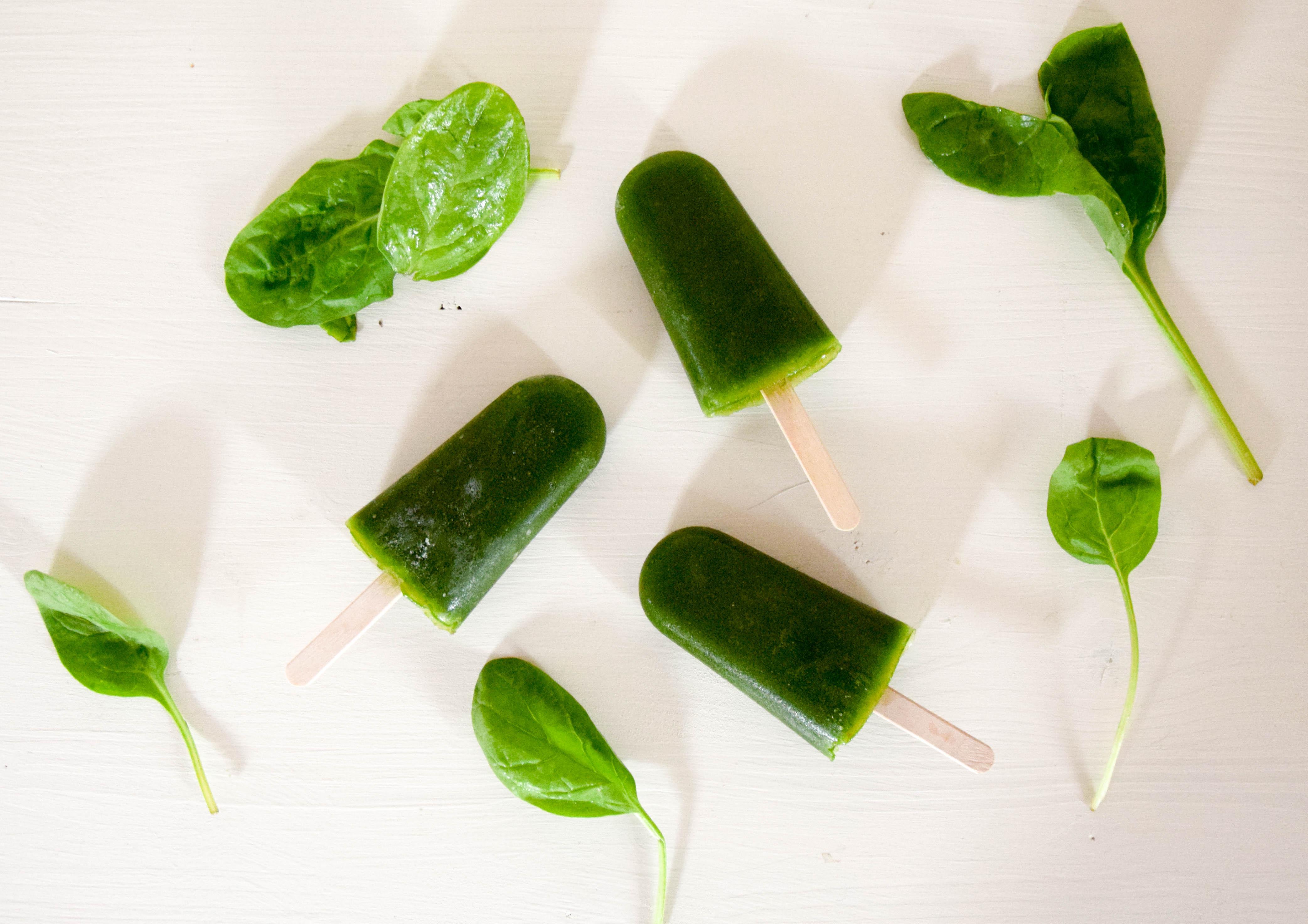 Green Smoothie Eis